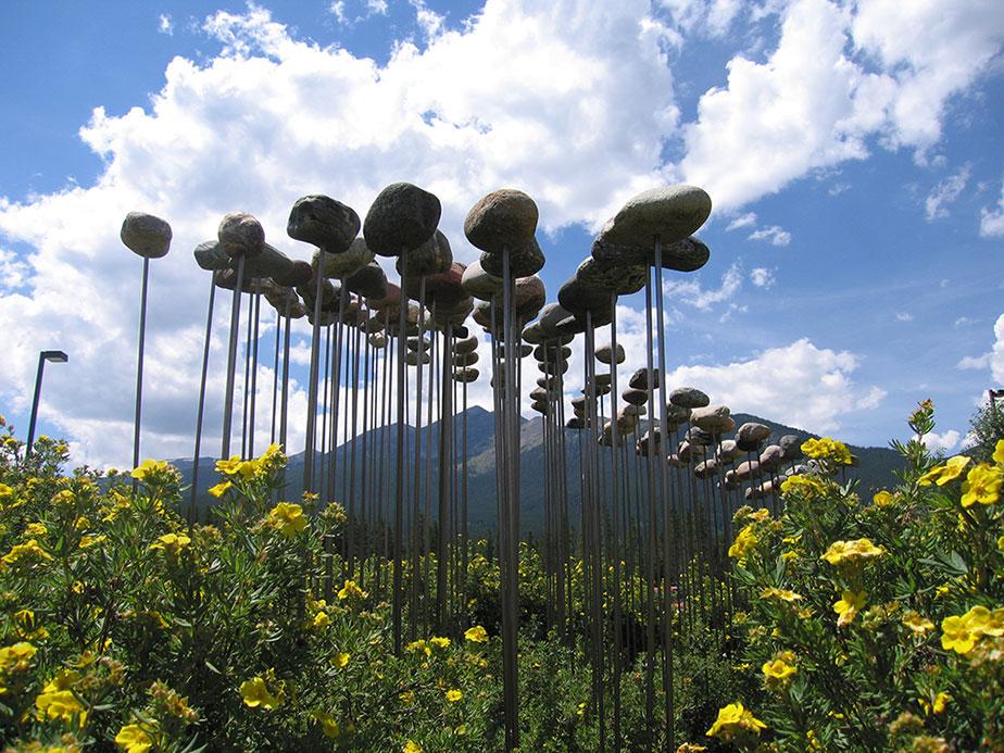 1997, public art commision, Frisco, Colorado